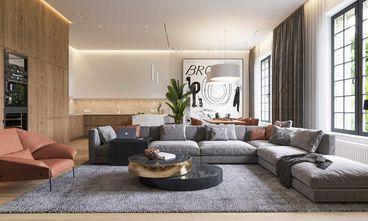 富裕型140平米三北欧风格客厅装修图片大全