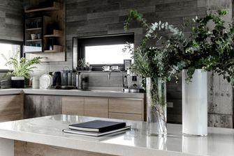 5-10万80平米复式工业风风格厨房欣赏图