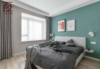 经济型80平米北欧风格卧室效果图