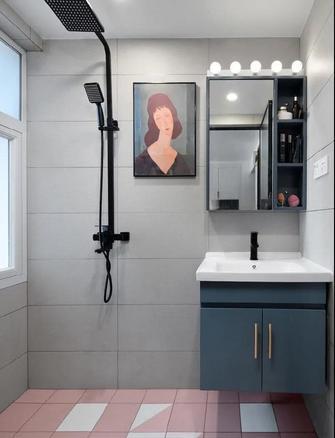 50平米混搭风格卫生间装修案例