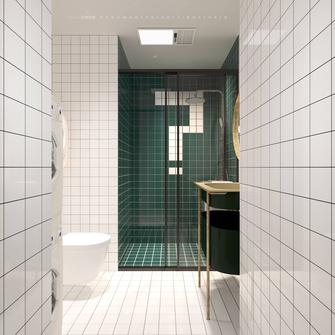 豪华型60平米一居室混搭风格卫生间图片