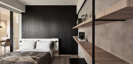 豪华型80平米一室两厅现代简约风格卧室欣赏图