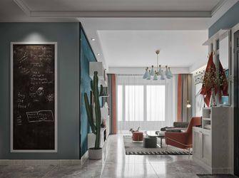 富裕型120平米三室两厅田园风格玄关效果图