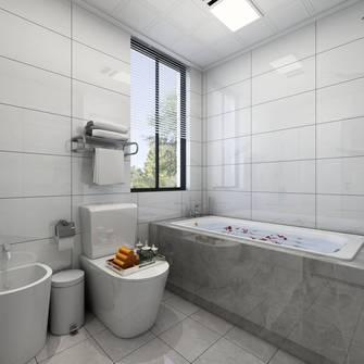富裕型90平米三欧式风格卫生间设计图