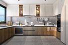 130平米四现代简约风格厨房装修案例