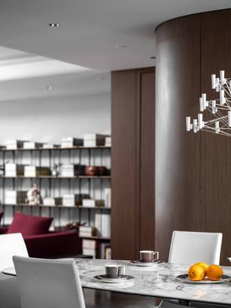 5-10万140平米四室两厅日式风格餐厅图