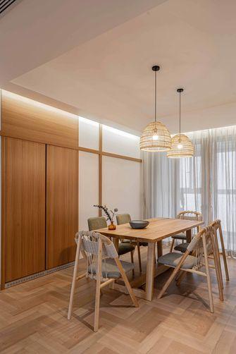 富裕型110平米四室两厅日式风格餐厅装修案例