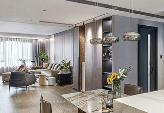 130平米三室一厅现代简约风格衣帽间装修案例