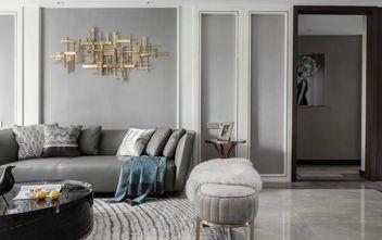 130平米四室一厅美式风格客厅图