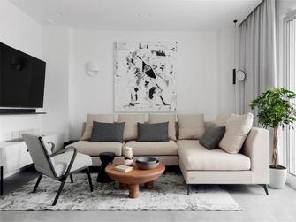 5-10万80平米三室一厅北欧风格客厅欣赏图