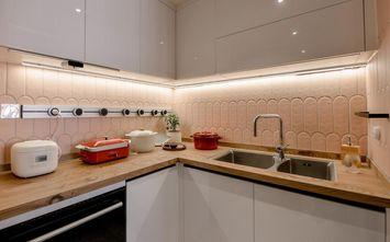 130平米四日式风格厨房设计图
