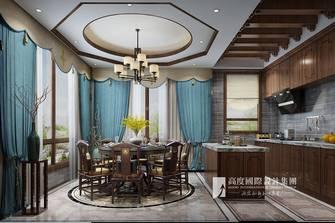 豪华型140平米复式中式风格餐厅图片大全