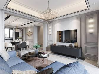15-20万140平米别墅美式风格客厅效果图