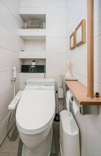富裕型130平米日式风格卫生间设计图