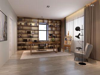 富裕型140平米别墅中式风格书房设计图