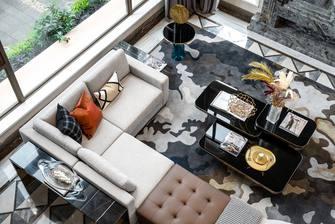 20万以上140平米三室两厅中式风格客厅欣赏图