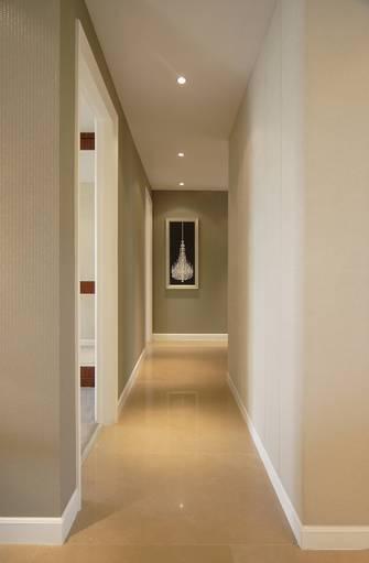 10-15万100平米三室一厅新古典风格走廊欣赏图