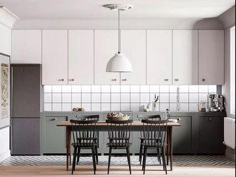 110平米四室一厅新古典风格厨房图