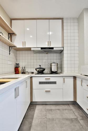 130平米三日式风格厨房图片大全
