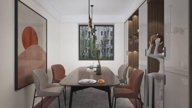 经济型140平米三室两厅现代简约风格餐厅设计图