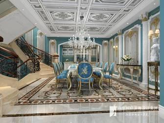 20万以上140平米别墅地中海风格餐厅装修图片大全