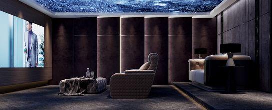 豪华型140平米复式混搭风格影音室欣赏图