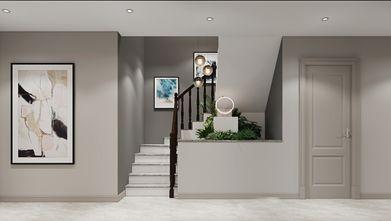 20万以上140平米三室两厅欧式风格楼梯间欣赏图