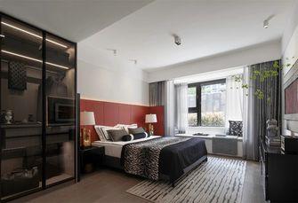 富裕型120平米三室两厅混搭风格卧室效果图
