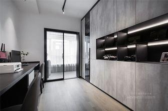 10-15万130平米三室两厅现代简约风格书房装修图片大全