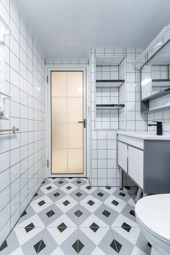 富裕型70平米三现代简约风格卫生间设计图