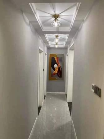 富裕型110平米三室两厅北欧风格走廊图片大全