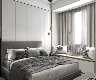 豪华型130平米复式现代简约风格卧室图片