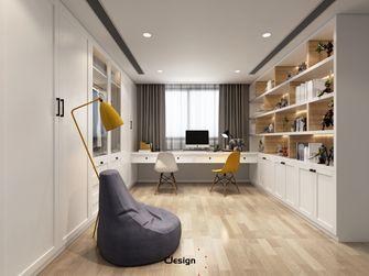 20万以上120平米三室两厅现代简约风格衣帽间设计图