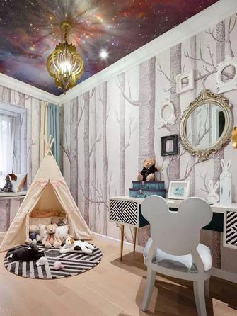 10-15万80平米三室一厅新古典风格青少年房装修图片大全