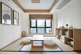 130平米四日式风格书房装修图片大全