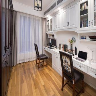 15-20万140平米三室两厅美式风格书房欣赏图