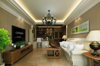 豪华型140平米四美式风格客厅装修效果图