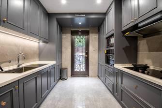 140平米别墅中式风格厨房装修案例