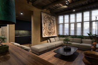 20万以上130平米复式工业风风格客厅图片大全