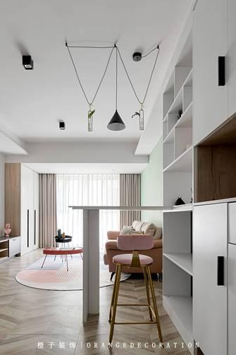 3万以下三室两厅北欧风格客厅装修案例