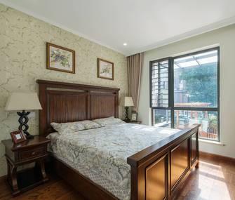 15-20万110平米三室一厅美式风格卧室效果图