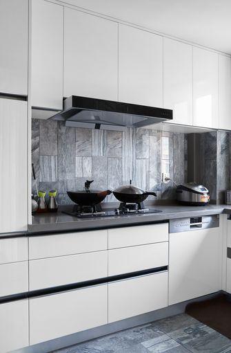 5-10万90平米三英伦风格厨房图