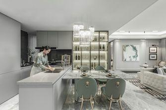 富裕型110平米四室两厅法式风格厨房图片大全