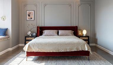 经济型100平米三室两厅法式风格卧室欣赏图
