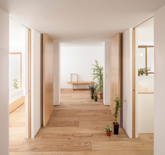 20万以上130平米复式日式风格走廊设计图