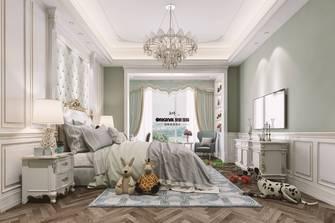 20万以上140平米四室三厅法式风格卧室图片