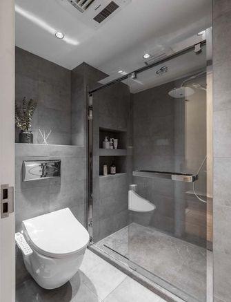 富裕型70平米公寓日式风格卫生间设计图