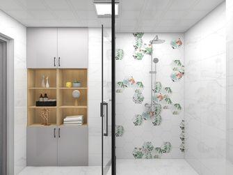 富裕型60平米日式风格卫生间设计图