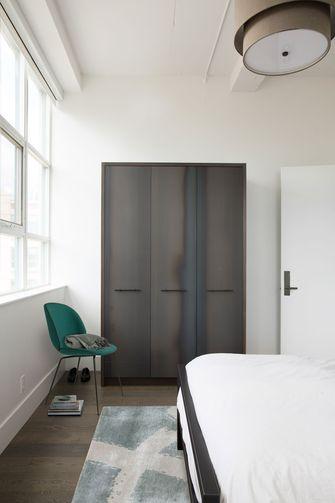富裕型110平米四工业风风格卧室图片大全