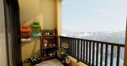 豪华型110平米三室两厅中式风格阳台设计图